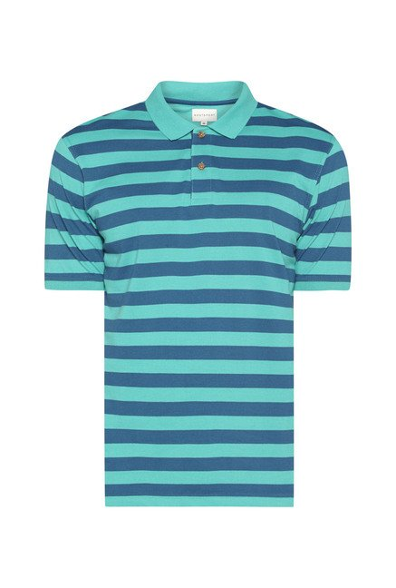 Westsport Mens Green Polo T Shirt