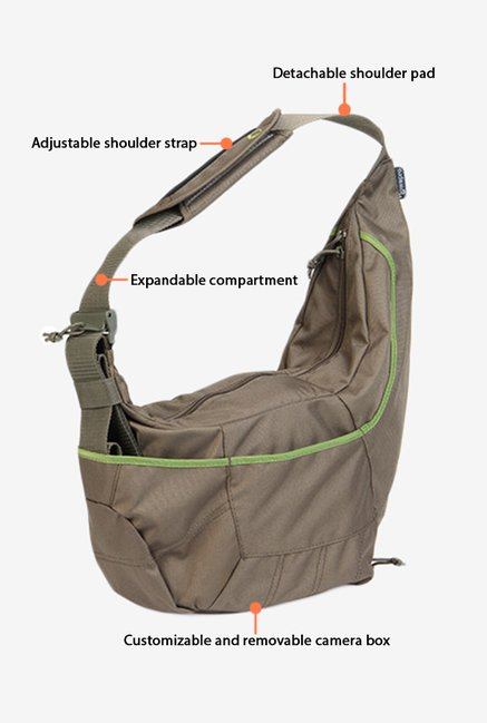Lowepro Passport Sling II Bag Mica Green