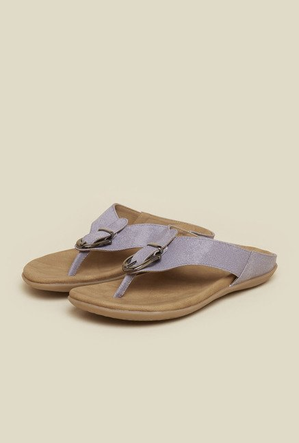 Mochi Light Purple Flat Thong Sandals
