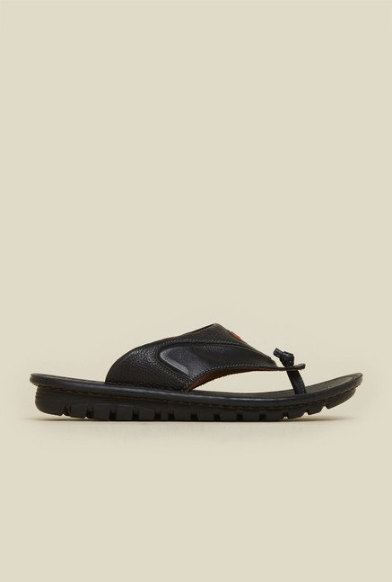 J. Fontini by Mochi Black Leather Thongs