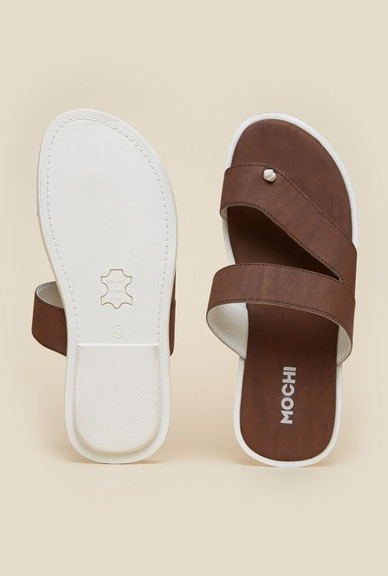 Mochi Brown Casual Sandals