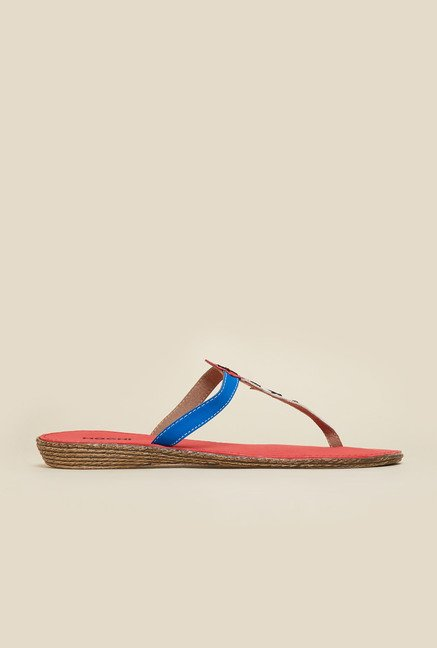 Mochi White Casual Flat Sandals