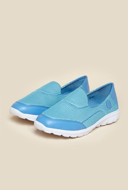 Mochi Light Blue Casual Loafers