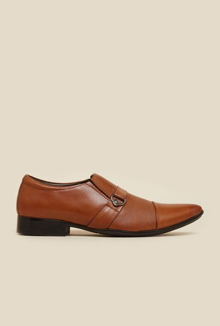 Mochi Tan Leather Shoes