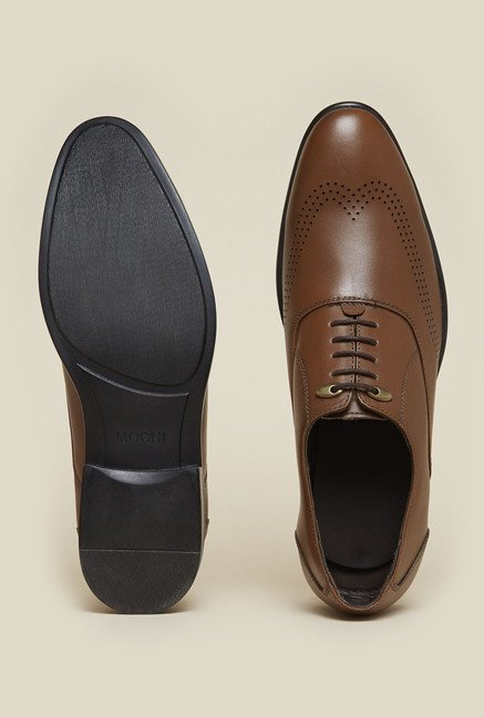 Mochi Tan Formal Shoes