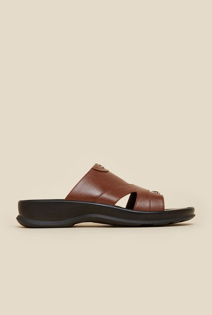 Mochi Brown Formal Sandals