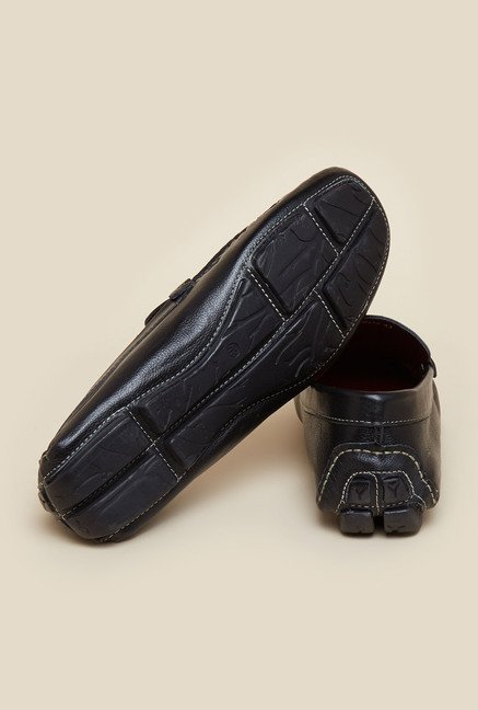 Gen X by Mochi Black Leather Moccasins