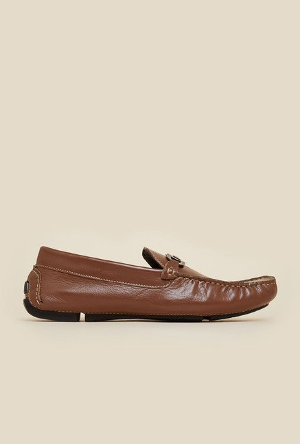 Gen X by Mochi Brown Leather Moccasins