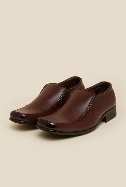 Mochi Brown Formal Shoes