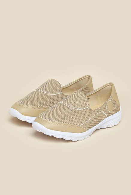Mochi Beige Casual Loafers