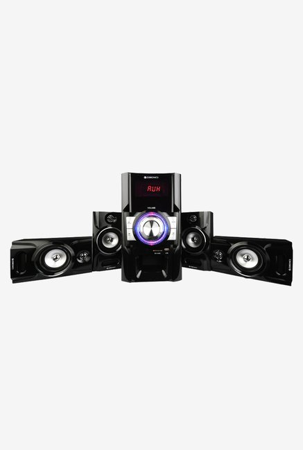 Zebronics BT4910RUCF 4.1 Ch Multimedia Speaker System (Black)