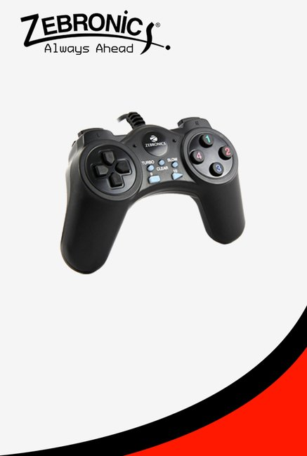 Zebronics 50JP Game Pad (Black)
