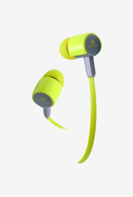 Zebronics EM 850 In The Ear Headphones Green