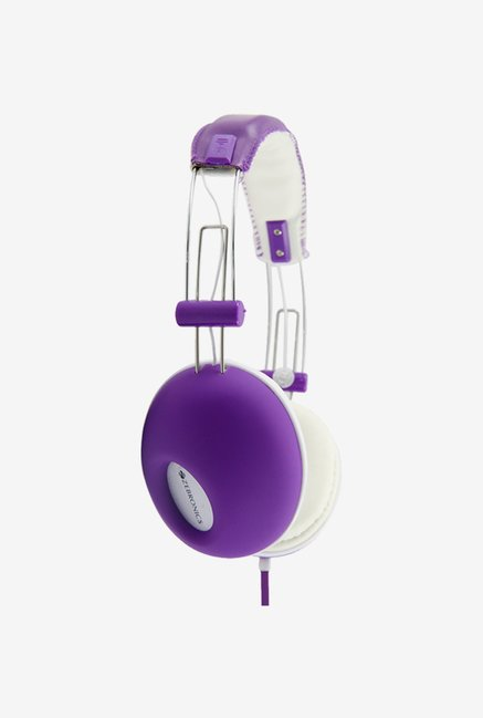 Zebronics Hiphop Over The Ear Headsets Purple