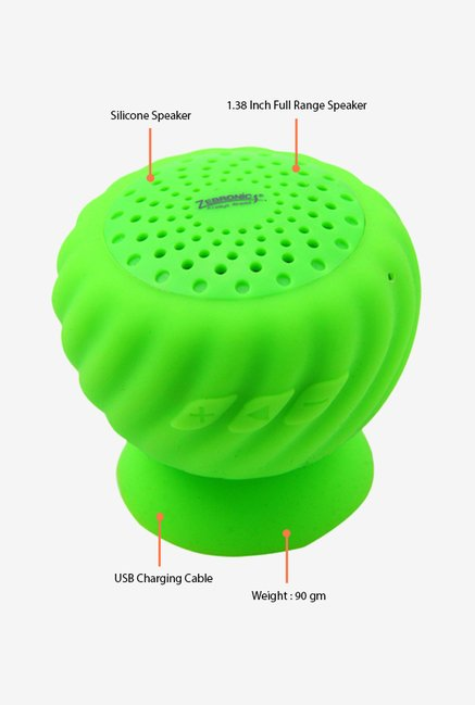 Zebronics Sticky Bluetooth Speaker Green