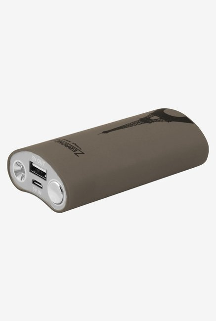 Zebronics PG4400 4400 mAh Power Bank (Grey)