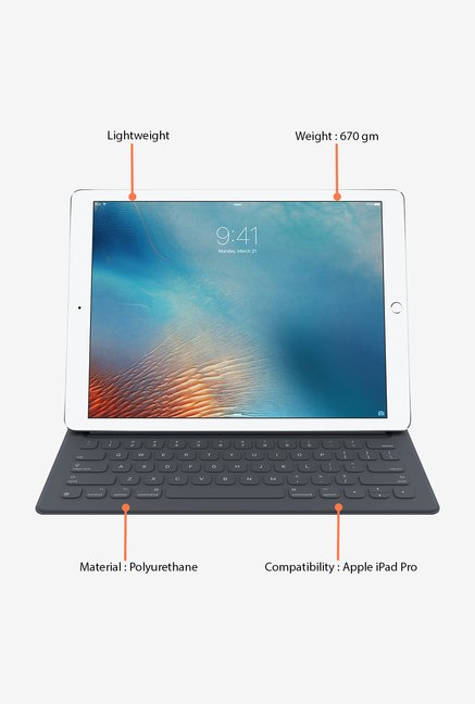 Apple iPad Pro Smart Keyboard (Black)