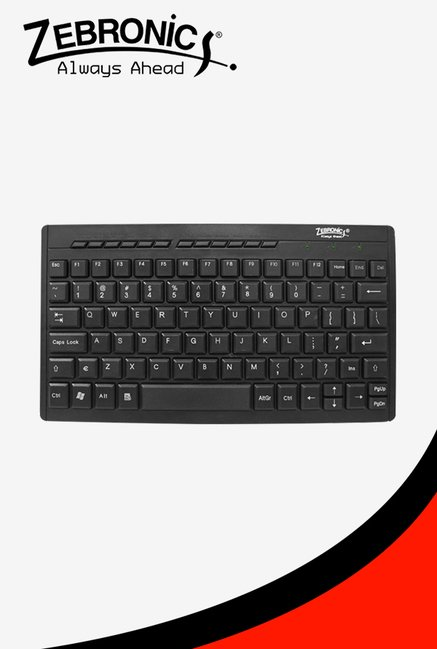Zebronics K04 Keyboard (Black)