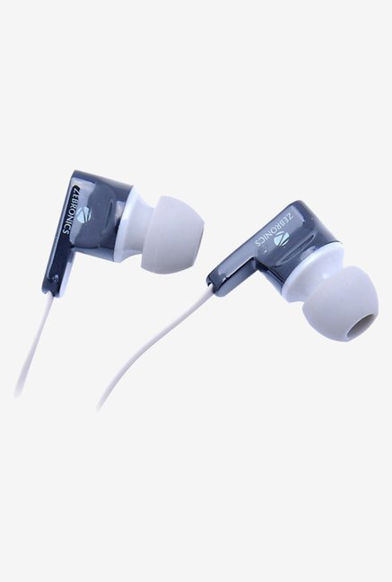 Zebronics EM 950 In The Ear Headphones Grey