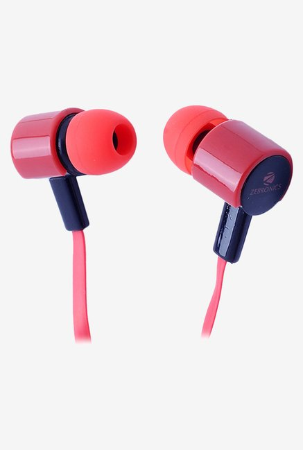 Zebronics EM 990 In The Ear Headphones Red