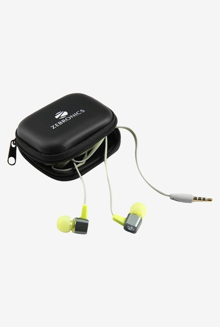 Zebronics EM 1 In The Ear Headphones Green