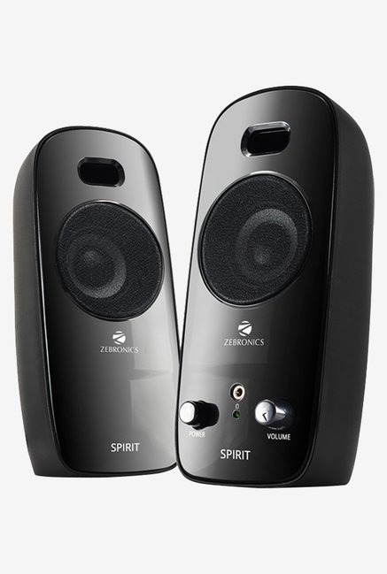 Zebronics Spirit Computer Speakers Black