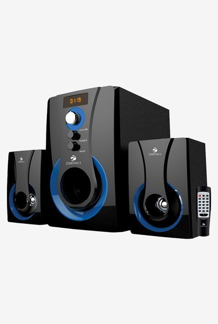 Zebronics Sw2490rucf Computer Speakers Black