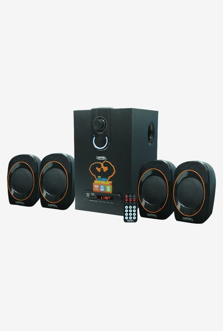 Zebronics SW3390 4.1 Ch Plus Multimedia Speaker System (Black)