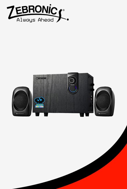 Zebronics Sw2492rucf Computer Speakers Black