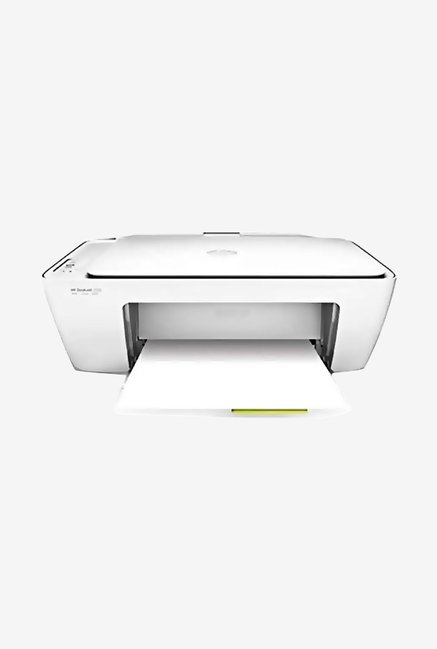 HP DeskJet 2132 All-in-One Inkjet Printer (White)