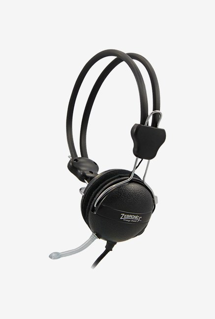 Zebronics 1070hmv On The Ear Headsets Black