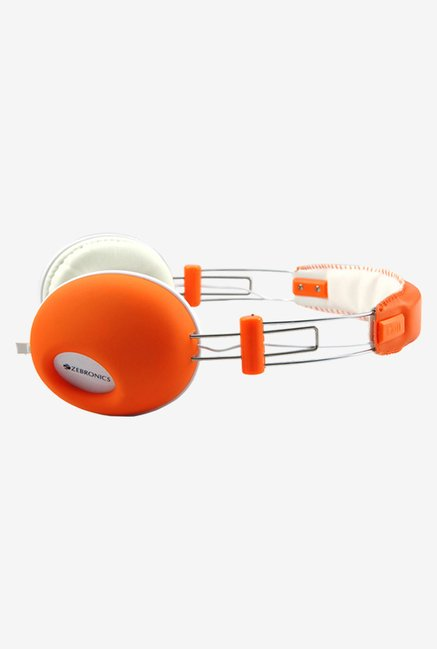 Zebronics Hiphop On The Ear Headsets Orange