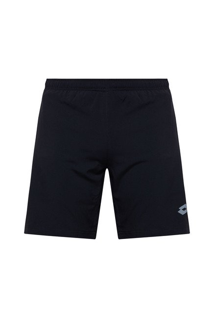 Lotto Black Solid Shorts