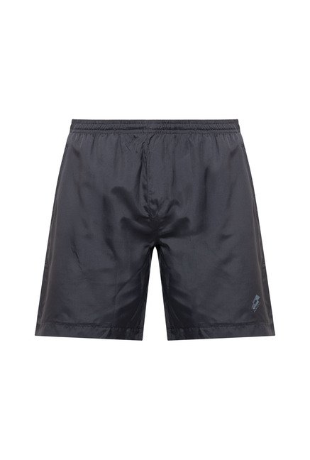 Lotto Dark Grey Solid Shorts