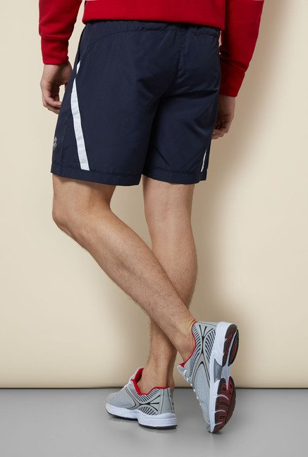 Lotto Navy Solid Shorts