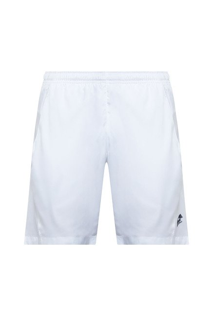 Lotto White Solid Shorts