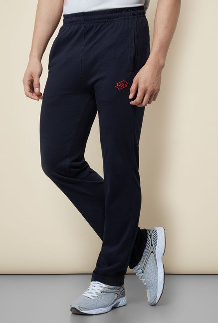 Lotto Navy Regular Fit Trackpant