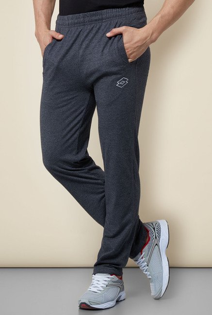 Lotto Grey Regular Fit Trackpant