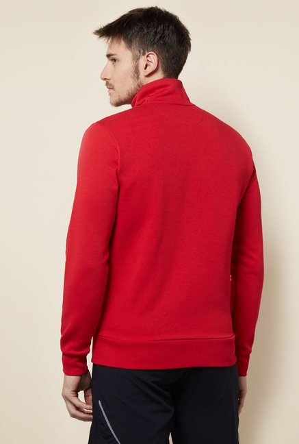 Lotto Red Cotton Sweatshirt