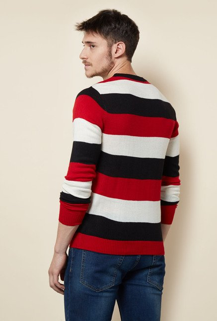 Lotto Multicolored Striped Sweater