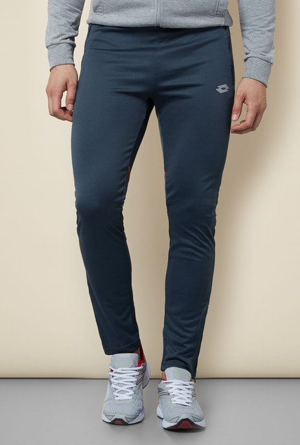 Lotto Blue Mid Rise Trackpant