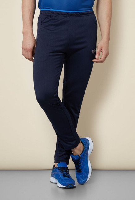 Lotto Navy Solid Trackpant