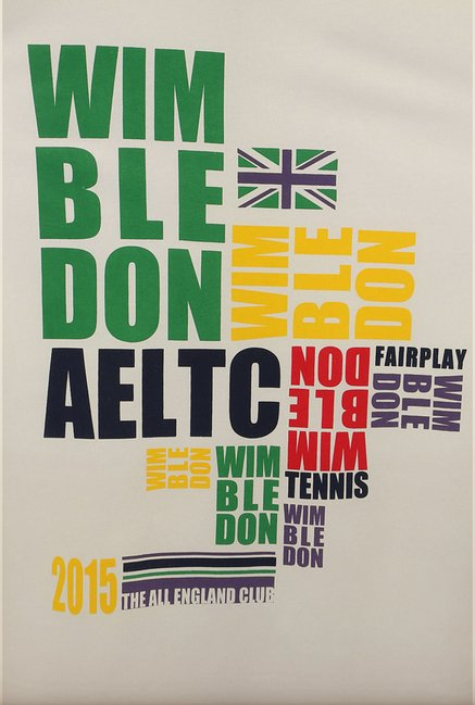 Allen Solly White Wimbledon T shirt