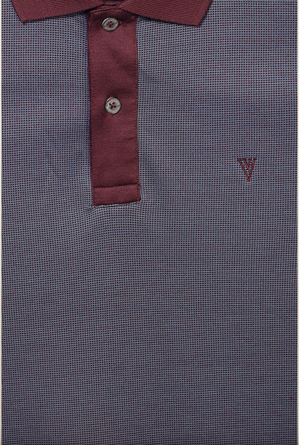 Van Heusen Grey Polo T Shirt