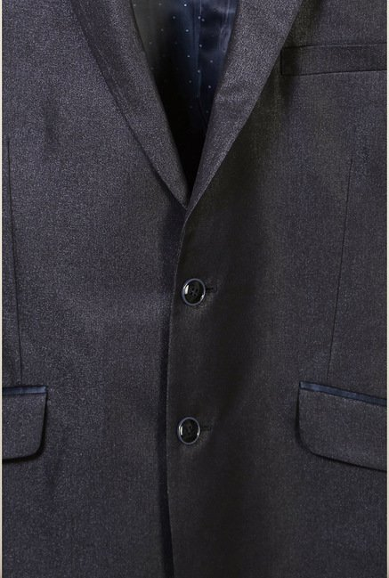 Van Heusen Black Slim Fit Blazer