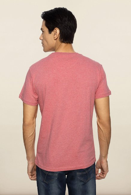 Allen Solly Pink Graphic T shirt