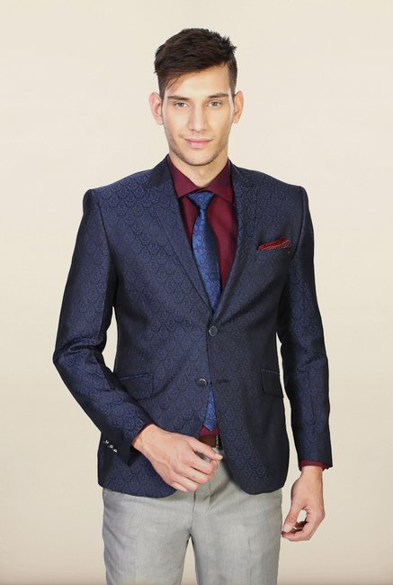 Van Heusen Blue Slim Fit Blazer