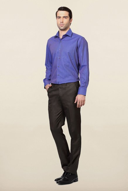 Van Heusen Blue Striped Shirt