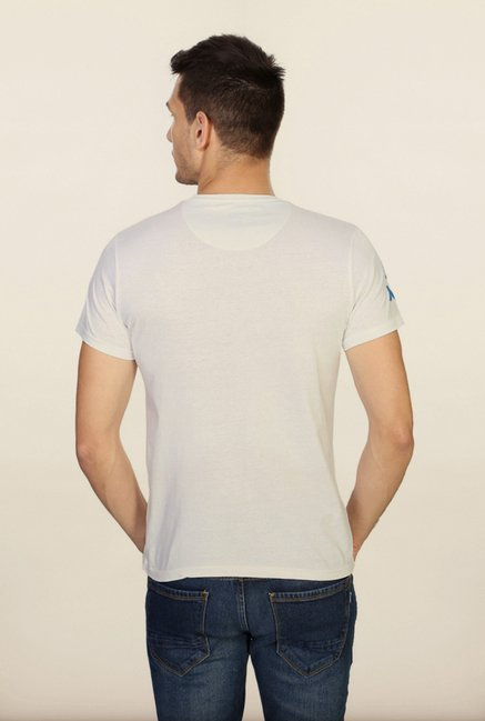 People White Printed T Shirt