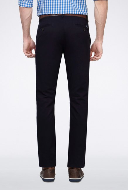 Allen Solly Navy Casual Trouser